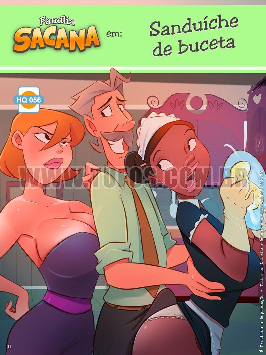 Família Sacana - Sanduíche de buceta